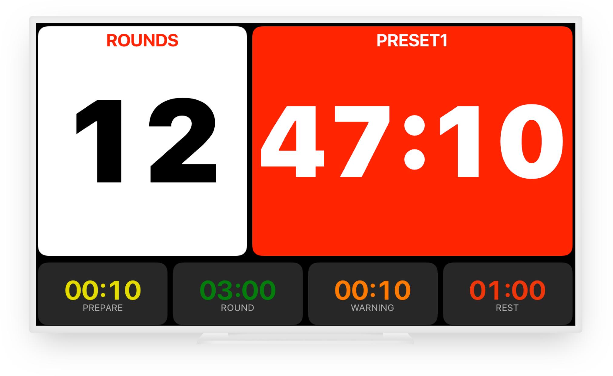 Boxing Timer Pro For Iphone Ipod Touch And Ipad Simpletouch