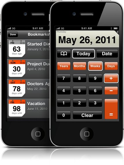 calculator app for iphone dateplus date calculator for iphone and ipod touch 13716