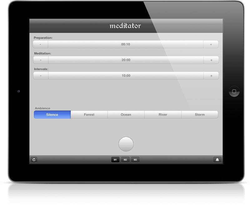 Meditator - Meditation Timer for iPhone, iPod touch and iPad