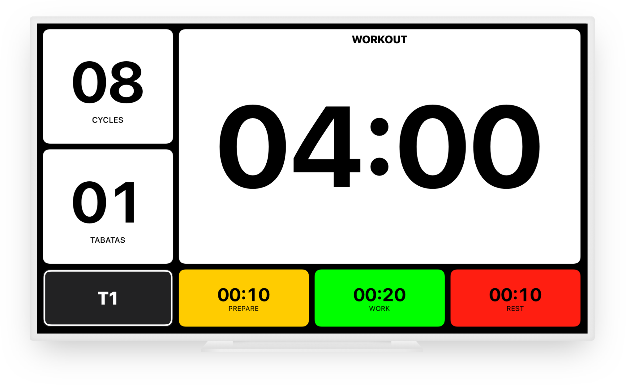 Tabata Pro - Tabata Timer for iPhone, iPod touch and iPad - SimpleTouch
